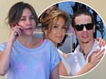 Is J.Lo¿s romance with toyboy Casper Smart over? Couple 'split' after two years together