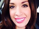 The trout pout effect: Farrah Abraham has sparked rumours of cosmetic surgery after revealing her puffy lips in a selfie snap posted on her Twitter account on Wednesday