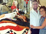 Soldier salutes photo: Army Ranger Josh Hargis wounded after explosion, makes inspirational salute