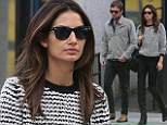 Lily Aldridge dresses down for casual outing with husband Caleb Followill but shows her wild side with thigh high boots