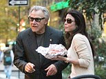 Chance encounter: Bethenny Frankel bumped into Harvey Keitel at a lobster truck in New York City, on Wednesday