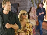 Wedding countdown! Jessica Simpson arrives in Italy to 'scout locations for her nuptials' with fiance Eric Johnson... days after being a bridesmaid