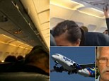 Flight 165 from Dallas to Atlanta suffered a mechanical failure after 20 minutes in the air. Passengers reported a loud bang before flames lit up one side of the aircraft.