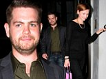 Brave Jack Osbourne and wife Lisa look upbeat at romantic dinner just days after he opened up about 'horrific lows' on DWTS