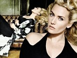 Pregnant Kate Winslet shows off her voluptuous form in Vogue shoot by Mario Testino... and talks about her normal life