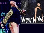 They'll remember you! Rihanna bares her bottom in risque hot pants during Cape Town concert... but covers up for new single