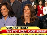 'She was like a bomb waiting to go off': Mystic Pizza cast reunion discuss co-star Julia Roberts