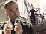 Hello sailor! Robbie Williams sails a ship through LA in music video for new track Go Gentle