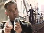 Hello sailor! Robbie Williams sails a ship through LA in music video for new track Go Gentle