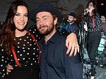 Liv Tyler and her ex-husband Royston Langdon make beautiful music together as they reunite for charity concert