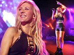 Ellie Goulding shows some skin (again) in leather hot pants as she insists she ¿doesn¿t care¿ what people think of her risqué looks