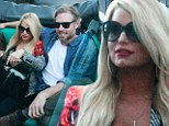 Loved up Jessica Simpson and fiance Eric Johnson look like honeymooners as they scout wedding locations in Italy