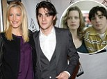 Son of a Gunn! Breaking Bad's Walt Jr joins on-screen mother Anna on the red carpet (and glamorous actress, 45, is not looking mummsy at all)