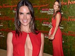 Red hot Alessandra Ambrosia is still ravishing amidst rumours that she is having a 'trial separation' from fiance Jamie Mazur