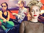 Now for the twist! Miley Cyrus tweets pic of her hanging with her backup dancers as allegations of discrimination loom