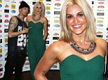 Ashley Roberts stuns in strapless jumpsuit and statement necklace at Autism fundraiser