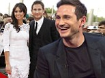 Made for each other: Christine Bleakley said she was 'beyond shocked' and burst into tears when her footballer fiance Frank Lampard asked her to marry him