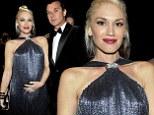 : Singers Gwen Stefani and Gavin Rossdale, wearing