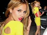 Hello sunshine! Eiza Gonzalez shows how she snagged Liam Hemsworth as she parties in a tiny canary yellow dress