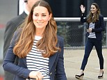 Britain's Kate, The Duchess of