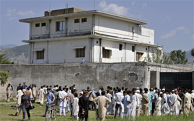 Osama bin Laden's compound was next door to a senior serving Pakistan Army major