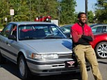 Good as new: Morris will now enjoy air-conditioning in his Mazda 626