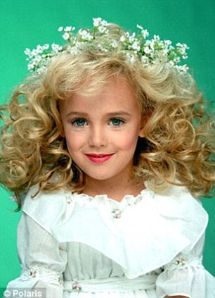 Ongoing case: Jon and Patsy Romsey were formally ruled out in the murder case in 2008, due to previously unknown DNA found on JonBenet's underwear. Mrs Ramsey (pictured left with JonBenet) died two years prior