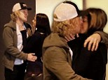 PICTURED: Owen Wilson kisses mystery brunette who is then spotted leaving his house the following morning
