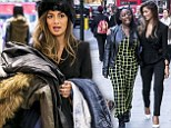 You're not meant to be shopping for YOU! Nicole Scherzinger can't resist stocking up on new clothes... as she takes X Factor's Hannah Barrett on a shopping spree