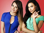 Lea Michele and Naya Rivera get back into character for new Glee cast shots as it's revealed show will end after its sixth season