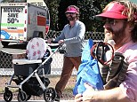 Making room for baby? Zach Galifianakis returns moving van just days after giving first glimpse of one-month-old child