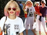 Rita Ora has a Princess Diana moment as her white tutu-style skirt turns see-through in the sunlight