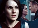 Michelle Dockery stars as flight attendant in action thriller Non-Stop alongside Liam Neeson and Julianne Moore