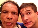 Strong bond: Muhammad Ali talks on a regular basis to grandson Biaggio Ali-Walsh