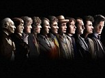 Time Lords united! All the actors who have taken on the role of Doctor Who have been merged into a picture marking the 50th anniversary of the BBC sci-fi show