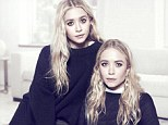 Twins Mary-Kate and Ashley Olsen appear in this week's edition of net-porter.com's digital magazine The Edit