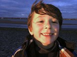 Hero: Jesse Lewis, 6, was shot in the head after screaming for his classmates to run and flee gunman Adam Lanza