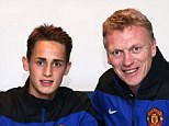 In the bag: Januzaj's contract was due to run out this summer, but United have moved quick