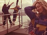 Daredevil Beyonce Knowles does a freefall jump from Auckland's Sky Tower as she continues her world tour in New Zealand