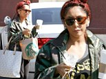 You betta work! Dancing With the Stars' Snooki wears camouflage and sneaker wedges to rehearse the Foxtrot