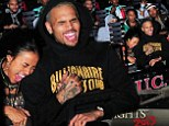 'I had So much fun!' Karrueche Tran embraces Chris Brown on Halloween Horror Nights roller-coaster ride