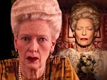 My how you have aged! Tilda Swinton is unrecognisable after Wes Anderson ages her by 40 years in his highly anticipated The Grand Budapest Hotel
