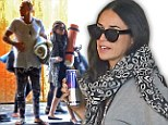 Need a little pick-me-up? Demi Moore, 50, needs her energy as she heads to yoga with her rumoured boy toy Will Hanigan