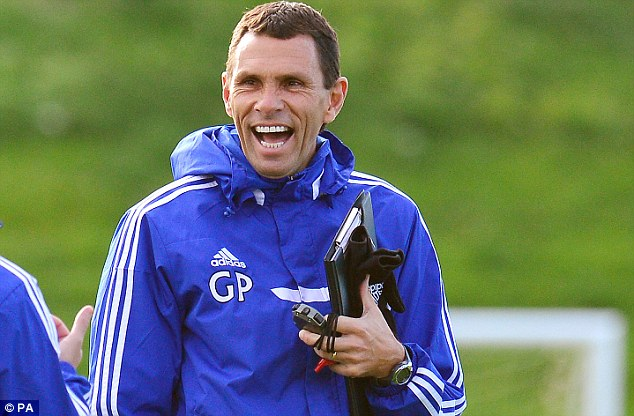 Blue order: Gus Poyet is preparing for his first game in charge of Sunderland