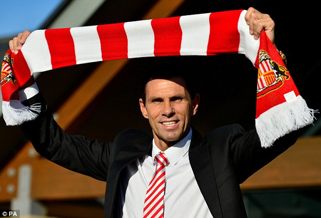 New start: Poyet was unveiled last week