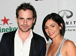Just married: Rider Strong and Alexandra Barreto, shown together in November 2010 in Los Angeles, got married on Sunday at a summer camp site in Oregon