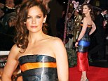 'My dress is a Little Mermaid-like!': Ruth Wilson says she'd love to play Ariel at the London premiere of Saving Mr Banks