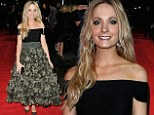 Who knew moss could look that good? Downton Abbey's Joanne Froggatt wows in ruffled gown for BFI London Film Festival awards