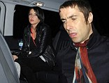Liam Gallagher heads home with former PA Debbie Gwyther after gig at Royal Albert Hall