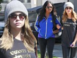 Planning a career change? Ashley Benson lunches with Justin Bieber's music publicist Melissa Victor